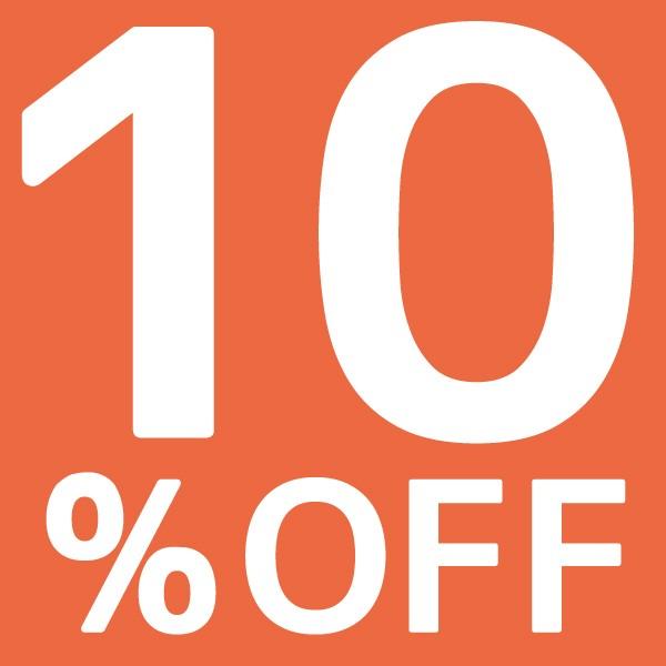対象ショップ限定 5,000円以上お買い物で10%OFFクーポン