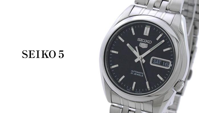 セイコー 逆輸入モデル セイコー5(ファイブ) 機械式(自動巻き) SNK361K1(SNK361KC) メンズ