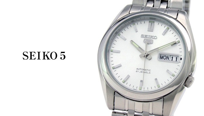 セイコー 逆輸入モデル セイコー5(ファイブ) 機械式(自動巻き) SNK355K1(SNK355KC) メンズ