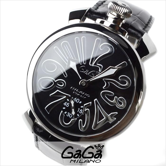 wholesale dealer 6e5a9 2cf56 ガガミラノ GaGaMILANO マニュアーレ メンズ 腕時計 5010.04S