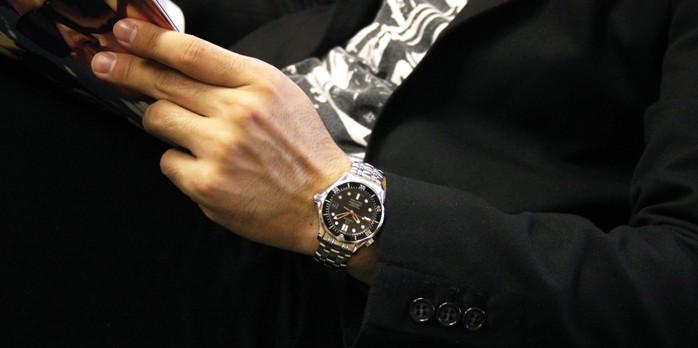 オメガ シーマスター プロフェショナル 300コーアクシャル300 Co-Axial 212.30.36.20.01.001 メンズ