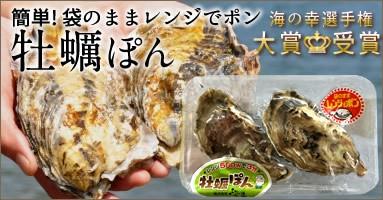 三陸宮城県産 雄勝湾牡蠣ぽん