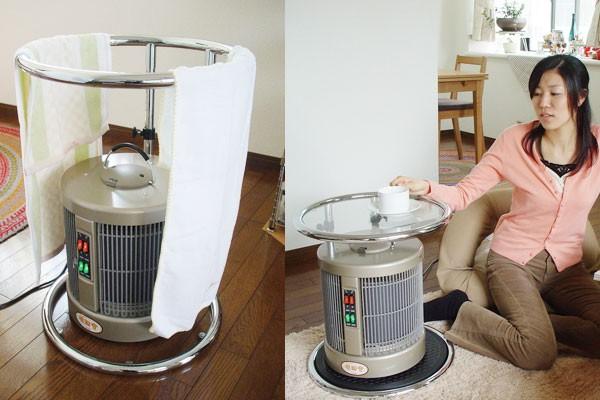 暖話室1000型ガラスサイドテーブルセット