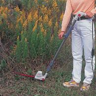 伸縮と角度の自在なポールバリカン Mr.ポールバリカン P-2001 下草