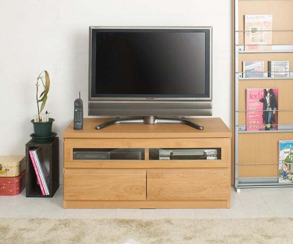 天然木テレビボード 幅101cm
