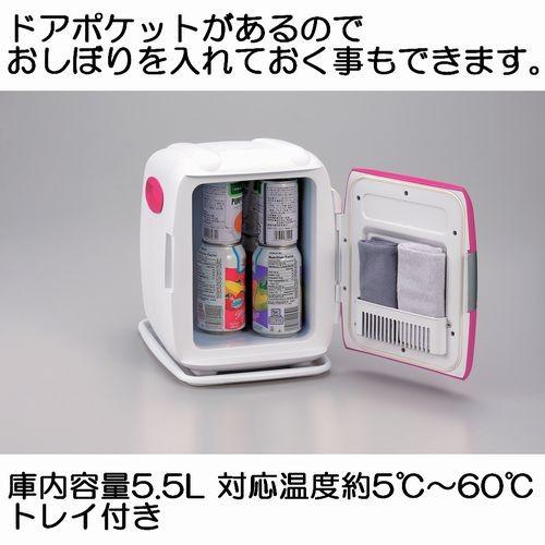 付属品には、トレイがあります。ツインバード 2電源式コンパクト電子保冷保温ボックスD-CUBE S HR-D206P