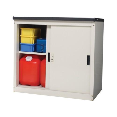 小型収納庫 ミニ物置 MKN-11 ベージュ