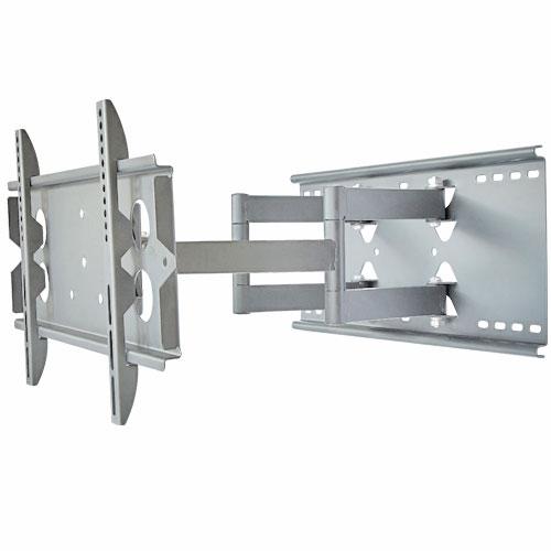 テレビ壁掛け金具 PLB-137SS ロングアーム 上下15度、左右約45°(壁に当たるまで)角度調節可能。汎用 薄型・液晶テレビ対応26V型〜42V型対応