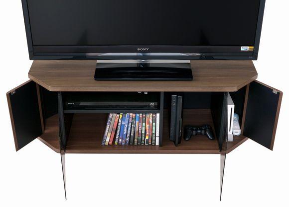薄型・液晶テレビ対応コーナーテレビ台42V型対応RCA-1000AV-CR ラシーヌコーナーカラー:ウォールナット柄 RACINE