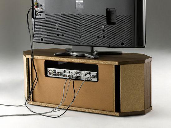 薄型・液晶テレビ対応コーナーテレビ台32インチ対応RCA-800AV-CR ラシーヌコーナーカラー:ブラウン(ウォールナット柄)