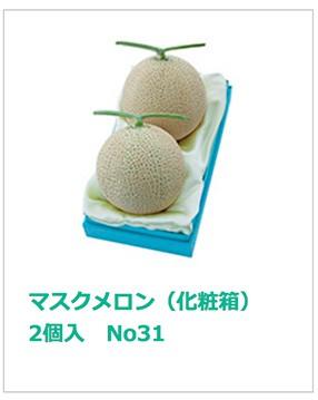 マスクメロン(化粧箱)2個入 No4