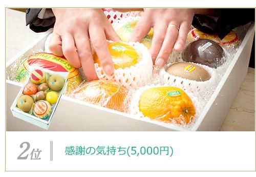 感謝の気持ち(5,000円)