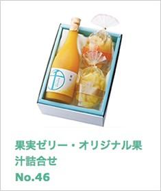 果実ゼリー・オリジナル果汁詰合せ No46