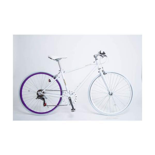 自転車 クロスバイク CL26 人気 700×28C 6段変速 クロスバイク 送料無料|21technology|23