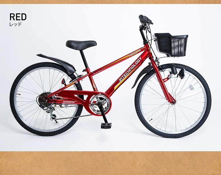 キッズバイク KD246 レッド