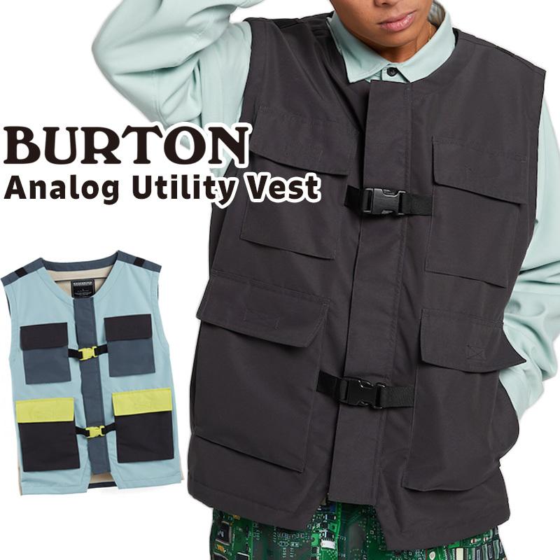 BURTON Analog Utility Vest バートン アナログ ユーティリティ ベスト