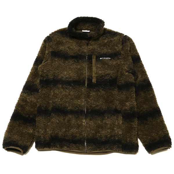 ジャケット Columbia コロンビア Winter Pass Print Fleece Full Zip ウィンターパス プリント フリース フルジップ|2m50cm|15