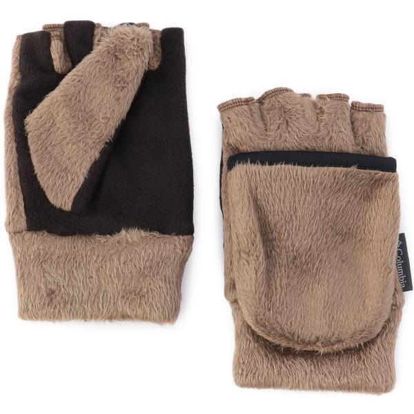 手袋 コロンビア Columbia Pigg Creek Glove ll ピグクリーク グローブ 指無し|2m50cm|19