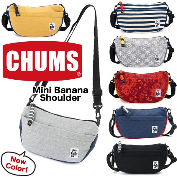 CHUM Mini Banana Shoulder Sweat Nylon