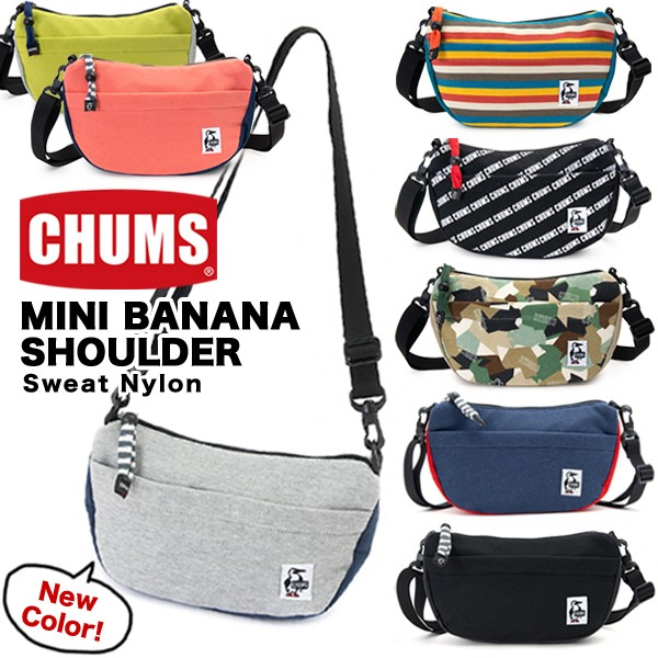 CHUM Mini Banana Shoulder Sweat Nylon