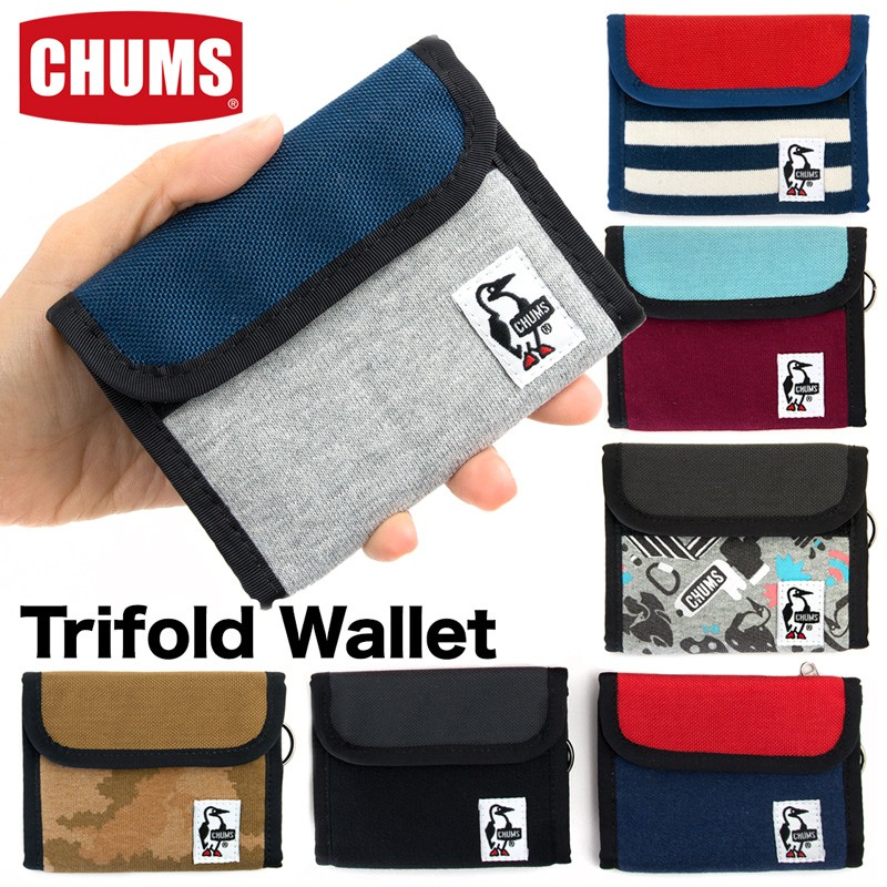 CHUMS チャムス TRIFOLD WALLET トリフォルド ウォレット