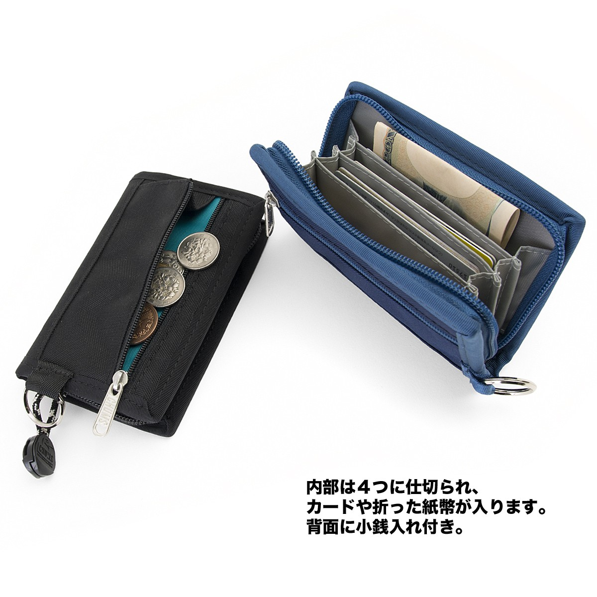 chums eco card wallet チャムス 財布
