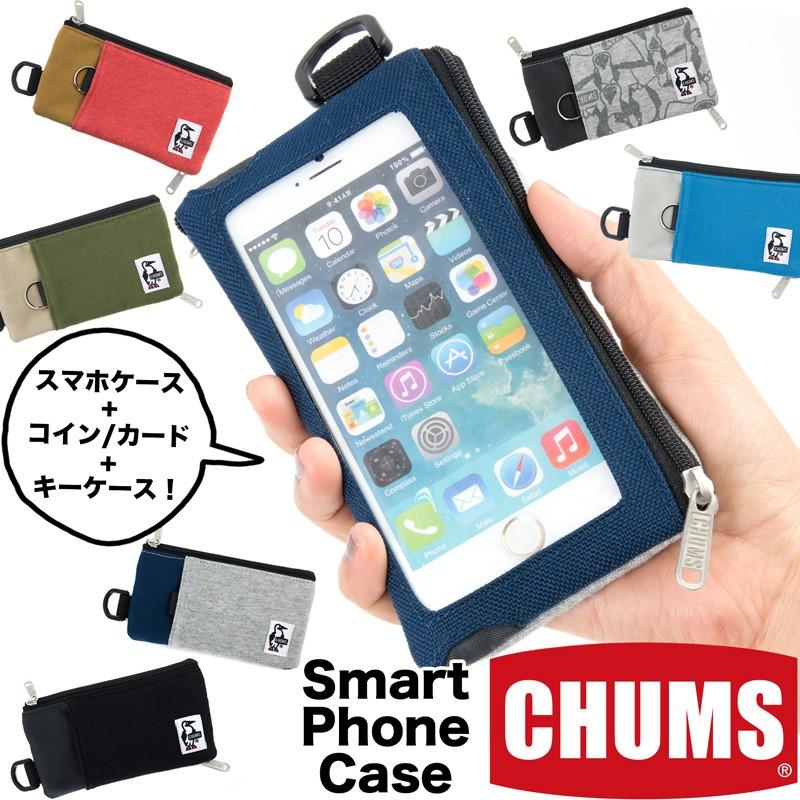 チャムス CHUMS スマートフォンケース Smartphone Case