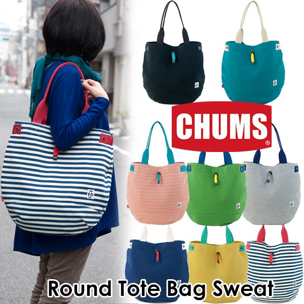 CHUMS Round Tote Bag Sweat