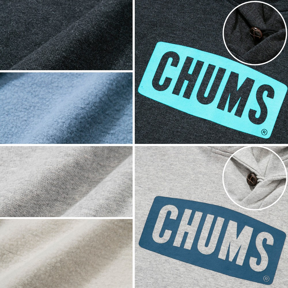 CH00-0646 CHUMS Logo Pull Over Parka チャムス ロゴ プルオーバー パーカー