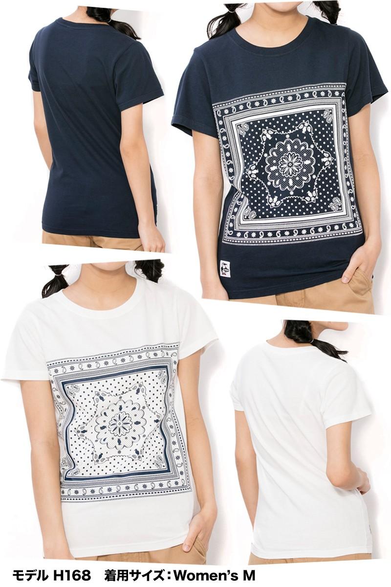 CHUMS チャムス Tシャツ CHUMS Bandana T-Shirt