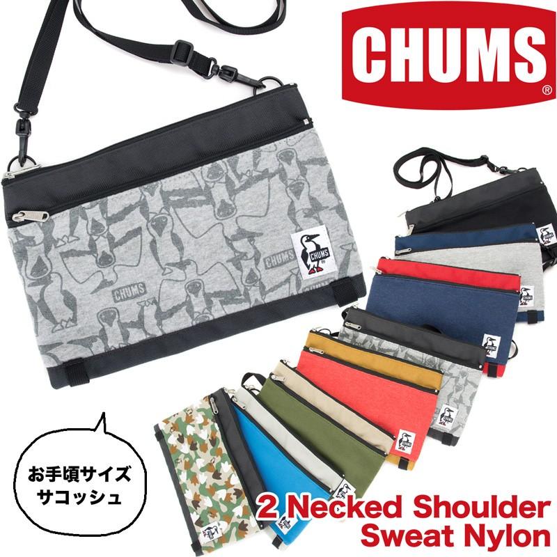 CHUM 2 Necked Shoulder Sweat Nylon