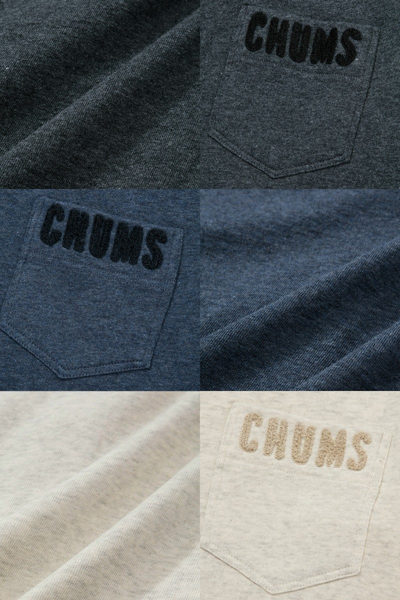 CHUMS キーストーンスウェットクルートップ