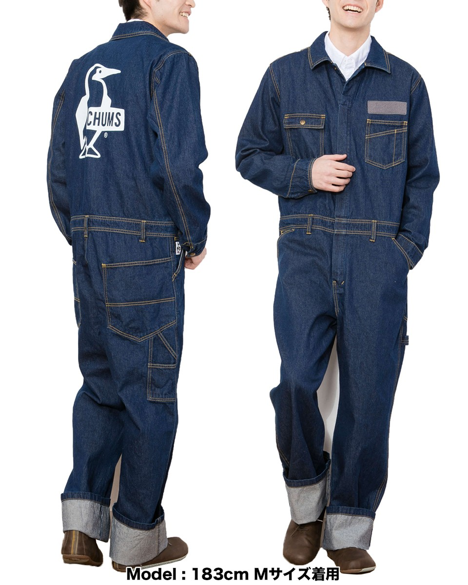 CHUMS Hurricane Coverall Booby Denim