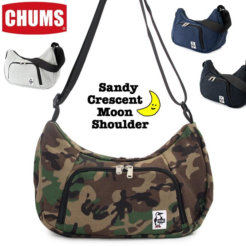CHUMS Sandy Crescent Moon Shoulder チャムス サンディー クレセントムーン ショルダー