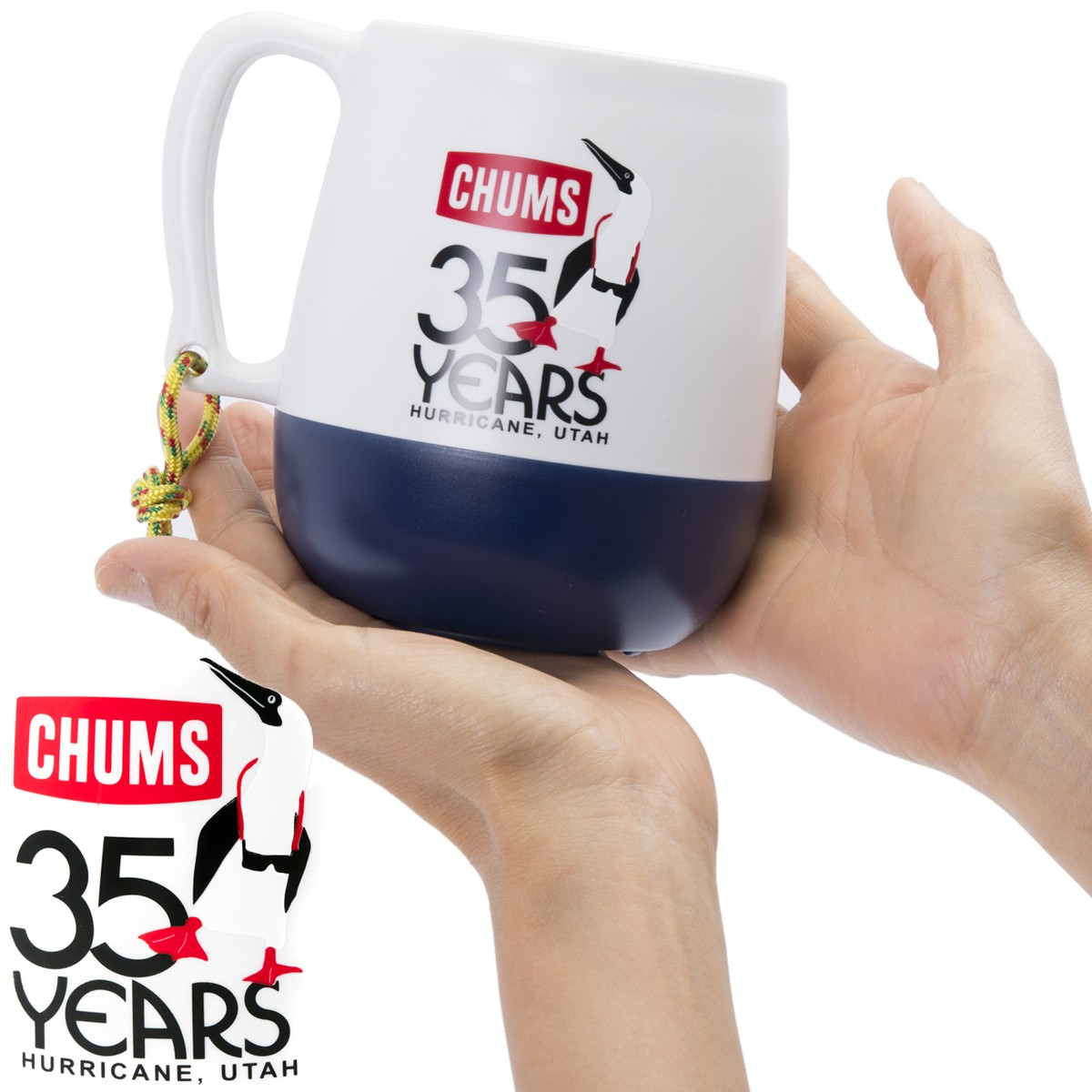 CHUMS 35th Anniversary Mug
