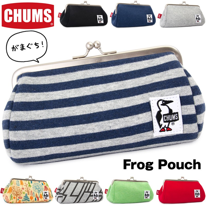 CHUMS Frog Pouch フロッグポーチ
