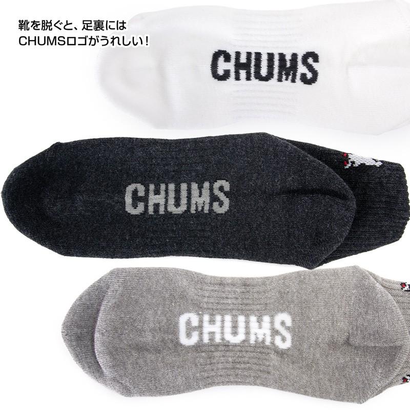 CHUMS チャムス 3P Booby Quarter Socks ソックス