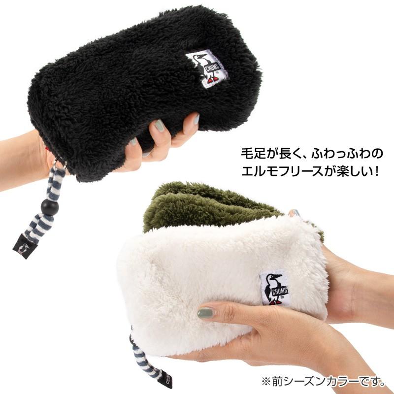 CHUMS Elmo Fleece Hurricane Pouch エルモ ハリケーンポーチ