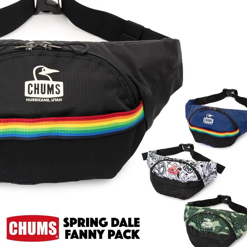CCHUMS Spring Dale Fanny Pack チャムス スプリングデール ファニーパック