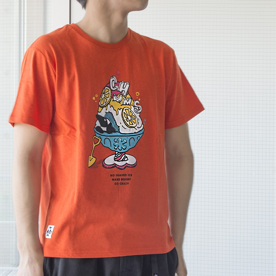 CHUMS Shaved Ice T-Shirt チャムス シェイブドアイス Tシャツ