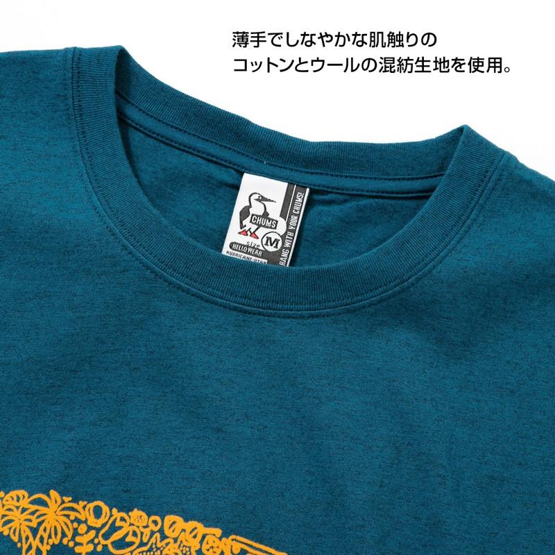 CHUMS Beach T-Shirt チャムス ビーチ Tシャツ