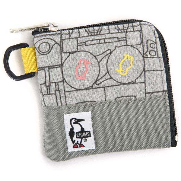 チャムス CHUMS スクエアコインケース 財布|2m50cm|16