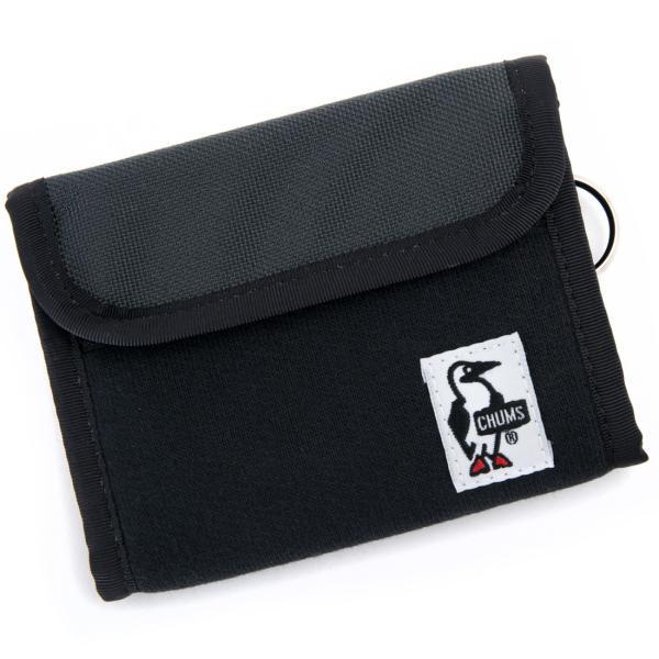 チャムス CHUMS トリフォルド ウォレット 財布|2m50cm|17