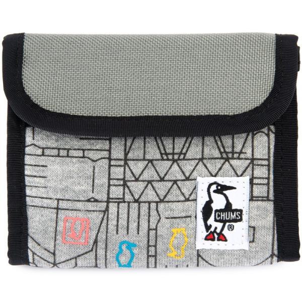 チャムス CHUMS トリフォルド ウォレット 財布|2m50cm|24