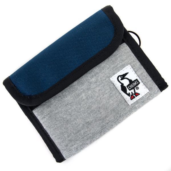 チャムス CHUMS トリフォルド ウォレット 財布|2m50cm|18