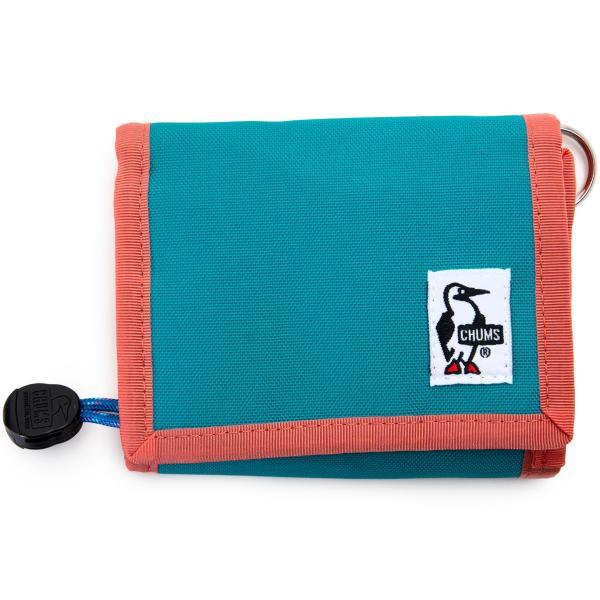 CHUMS チャムス 財布 エコ マルチ ウォレット Eco Multi Wallet|2m50cm|12