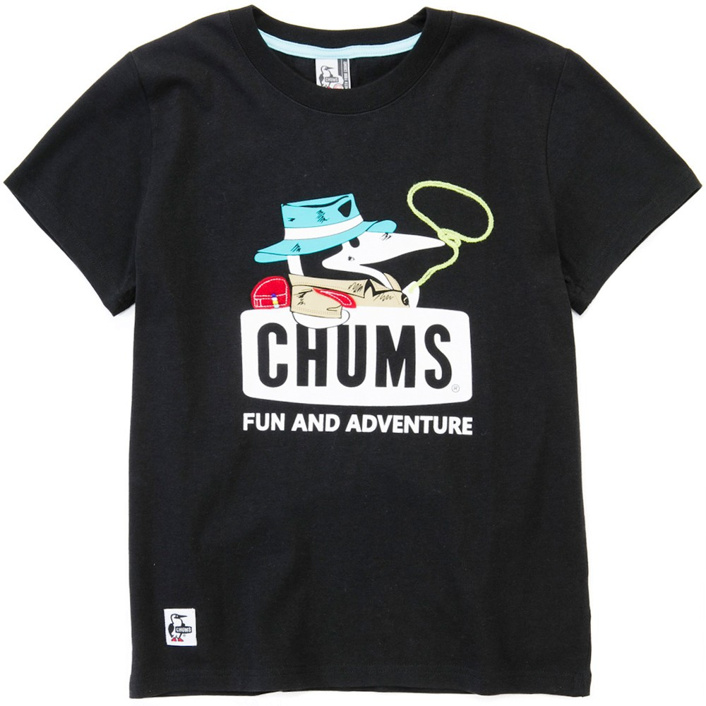 CHUMS チャムス Tシャツ Adventure Booby T-Shirt