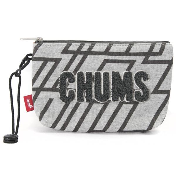 チャムス CHUMS ポーチ Little Pouch Sweat リトルポーチ スウェット|2m50cm|24