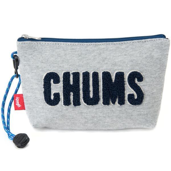 チャムス CHUMS ポーチ Little Pouch Sweat リトルポーチ スウェット|2m50cm|18