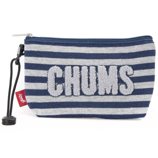 チャムス CHUMS ポーチ Little Pouch Sweat リトルポーチ スウェット|2m50cm|20